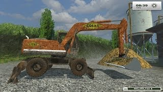 getlinkyoutube.com-FARM SIM SATURDAY  Deere's map small scale farming