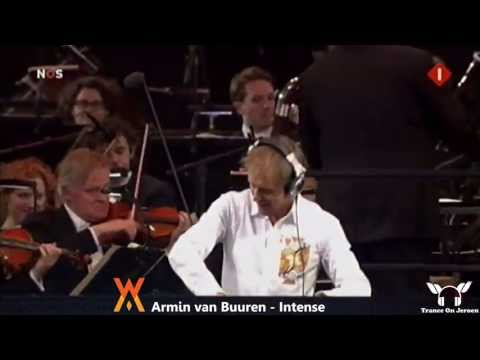 Armin van Buuren - INTENSE party with new Dutch King Willem Alexander & Queen Maxima
