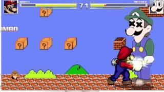 getlinkyoutube.com-M.U.G.E.N - Mario vs. Weegee