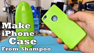 getlinkyoutube.com-Make Phone Case from  Shampoo Bottle!