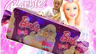 Barbie. Барби куклы и Монстер Хай куклы. Открываю огромную конфету с куклами Барби и Монстер Хай