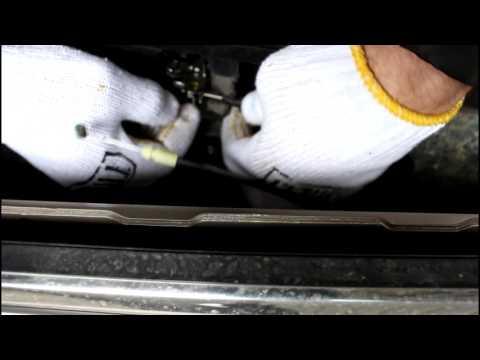 Chevrolet Epica Шевроле Эпика Снимаем обшивку передней левой двери (карту)
