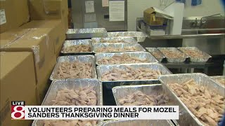Mozel Sanders Foundation to provide Thanksgiving meals for 40,000 Hoosiers