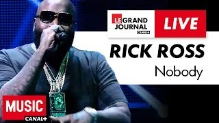"Rick Ross rappe ""Nobody"" et ""B.M.F"" au Grand Journal"