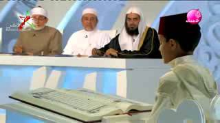 محمد بوشكوش يقلد الشيخ محمود خليل الحصري ما شاء الله تقليد رائع و مميز