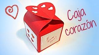 getlinkyoutube.com-Manualidades para San Valentín: Caja corazón.