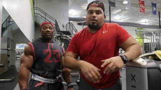 "getlinkyoutube.com-Dexter ""The Blade"" Jackson and Dexter Jr. Train Chest"