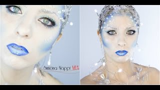 getlinkyoutube.com-Snow Queen Makeup Tutorial | Simona Nappi MUA