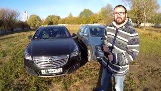 getlinkyoutube.com-VW Passat Alltrack vs Opel Insignia Country Tourer 4x4 - Версус от ATDrive