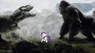 getlinkyoutube.com-Ponies on King Kong 3D