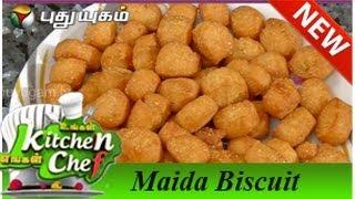 getlinkyoutube.com-Maida Biscuit - Ungal Kitchen Engal Chef