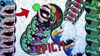 getlinkyoutube.com-INSANE LEGENDARY DESTROYING TEAMS MOMENTS! #BEST MOMENTS // POPSPLITS , BAITS (Agar.io)