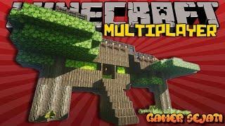 getlinkyoutube.com-TEMA : RUMAH POHON !!!   BUILD BATTLE    - Minecraft Indonesia -