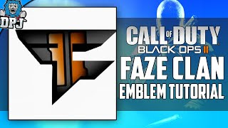 "getlinkyoutube.com-""CUSTOM FAZE EMBLEM"" - Black Ops 3 & Advanced Warfare - Customizable Faze Clan Logo Emblem Tutorial"