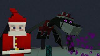 getlinkyoutube.com-Minecraft Xbox Lets Play - Survival Madness Adventures - The Santa Ender Dragon Boss [181]
