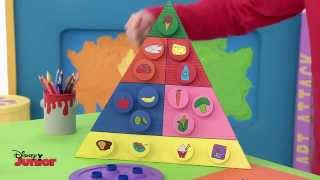 getlinkyoutube.com-Art Attack - Food Planner - Official Disney Junior UK HD