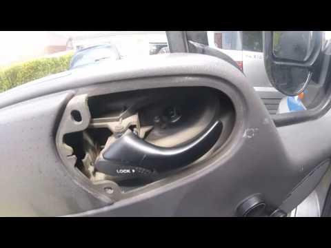 Как снять дверную обшивку ford fronzit