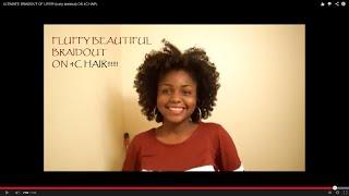 getlinkyoutube.com-ULTIMATE BRAIDOUT OF LIFE!!! (curly braidout) ON 4C HAIR.
