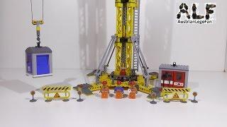 getlinkyoutube.com-Lego City 7905 Building Crane / Grosser Baukran - Lego Speed Build Review