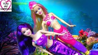 getlinkyoutube.com-Мультик Барби Русалка - Barbie Mermaid Видео для девочек.