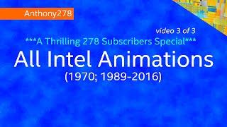 getlinkyoutube.com-278 Special (3/3): All Intel Animations (1970; 1989-2016)