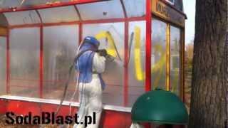 getlinkyoutube.com-Usuwanie graffiti metodą sodowania SodaBlast.pl