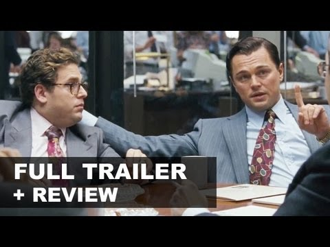 The Wolf of Wall Street Official Trailer + Trailer Review : HD PLUS