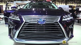 getlinkyoutube.com-2016 Lexus RX450h Hybrid - Exterior and Interior Walkaround - Debut at 2015 New York Auto Show