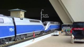 getlinkyoutube.com-Mehano Thalys 15-delig & Mehano Duplex 11-delig