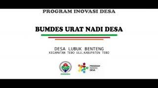 Inovasi Desa Lubuk Benteng Oleh TPID Tebo Ulu