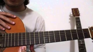 Moverse por una sola cuerda. Intervalos: tonos y semitonos. Curso basico guitarra 12.