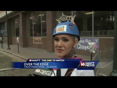 Over the Edge event held in Jackson