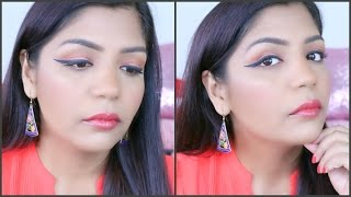 Spring Makeup Tutorial -Orange Makeup🍊 |SuperPrincessjo