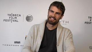 getlinkyoutube.com-Theo James Explains How ALLEGIANT Deals with Changes Made in INSURGENT
