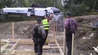 getlinkyoutube.com-Building a log cabin in Finland: Preparing the foundations (Part 2)