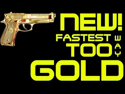 NEW FASTEST WAY TO GOLD GUNS IN BO2