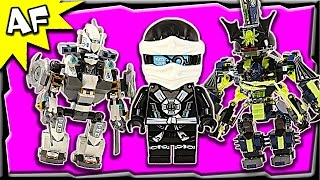 Lego Ninjago TITAN MECH Battle 70737 Ghost Army Stop Motion Build Review