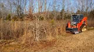 getlinkyoutube.com-CID Heavy Duty Brush Cutter Skid Steer Attachment