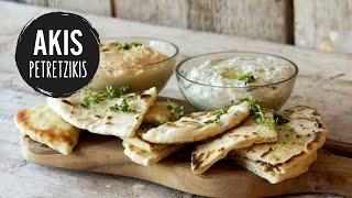 getlinkyoutube.com-Greek Pita Bread | Akis Kitchen