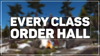 getlinkyoutube.com-WoW Legion Alpha: All 11 Class Order Halls Toured
