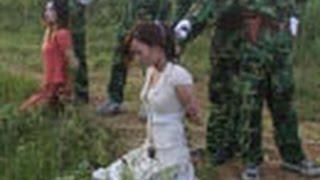 getlinkyoutube.com-【閲覧注意】中国人女性の生々しい、人生最後のこんな画像集 Chinese woman condemned criminal