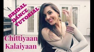 CHITTIYAAN KALAIYAAN EASY BOLLYWOOD INDIAN WEDDING DANCE STEPS  DANCE TUTORIAL