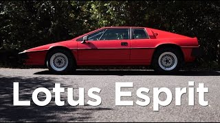 "getlinkyoutube.com-Should you ever drive your childhood ""poster car""?  Lotus Esprit S3 review 