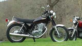 getlinkyoutube.com-Essai Yamaha SR 400 : Le retour du kick !