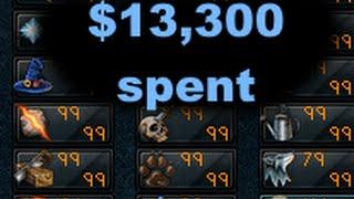 getlinkyoutube.com-$13,300 SPENT ON RUNESCAPE FOR FASTEST ALL 99'S