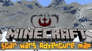 getlinkyoutube.com-Minecraft Eskejp: Star Wars Adventure Map (ft. Sitr0x)