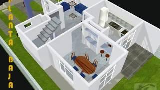 getlinkyoutube.com-CASA 3D EJEMPLO FACHADA   trazzos_g@hotmail.com
