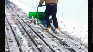 getlinkyoutube.com-EZ Plow Snow Remover Manual Shovel