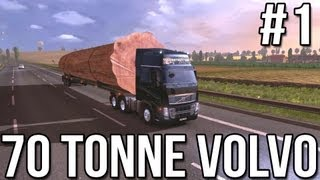 getlinkyoutube.com-Seventy Tonne Volvo (Part #1) - Euro Truck Simulator 2