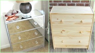 getlinkyoutube.com-DIY | Mirrored Nightstands (IKEA HACK!!!)